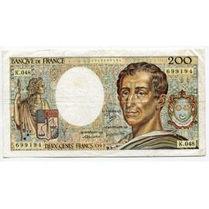 France 200 Francs 1987