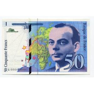 France 50 Francs 1992