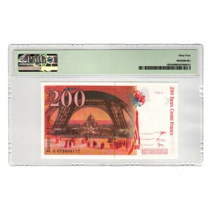 France 200 Francs 1999 PMG 64