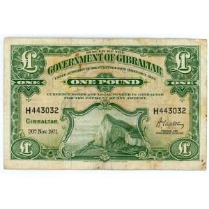 Gibraltar 1 Pound 1971