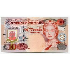 Gibraltar 10 Pounds 1995