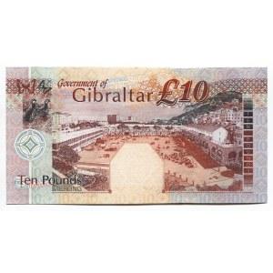 Gibraltar 10 Pounds 2002 Commemorative