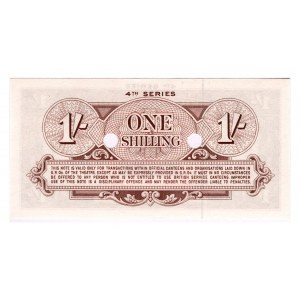 Great Britain Armed Forces 1 Shilling 1962