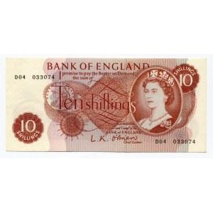 Great Britain 10 Shillings 1961 - 1962