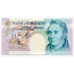 Great Britain 5 Pounds 1991 - 1998