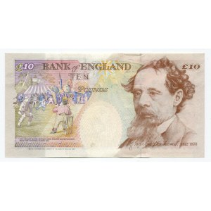 Great Britain 10 Pounds 1993