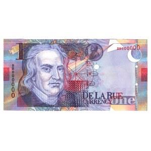 Great Britain Test Banknote De La Rue Currency 1999