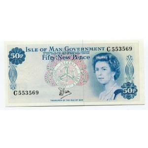 Isle of Man 50 New Pence 1979