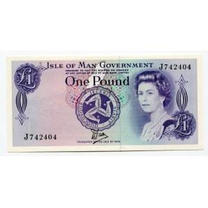 Isle of Man 1 Pound 1979
