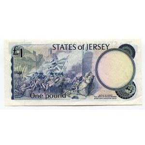 Jersey 1 Pound 1976 - 1988