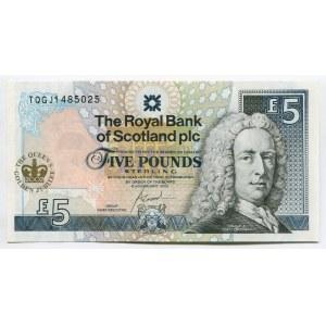 Scotland 5 Pounds 2002 The Royal Bank of Scotland PLC