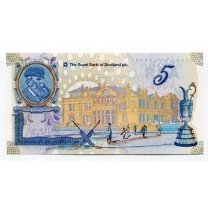 Scotland 5 Pounds 2004