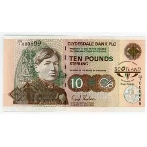 Scotland 10 Pounds 2008