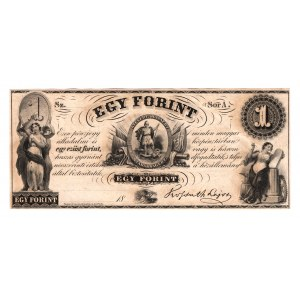 Hungary 1 Forint 1852