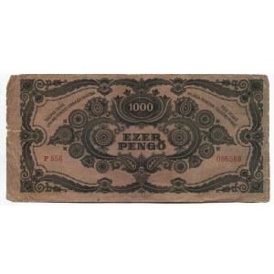 Hungary 1000 Pengo 1945 Hungarian National Bank