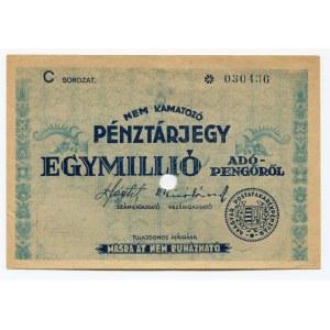 Hungary 1000000 Adopengo 1946