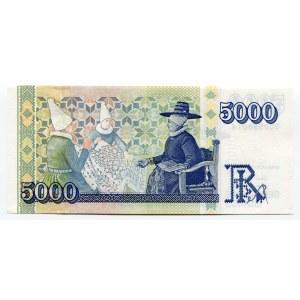 Iceland 5000 Kronur 2001
