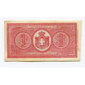 Italy 1 Lira 1914 (ND)