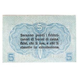 Italy 5 Centesimi 1918