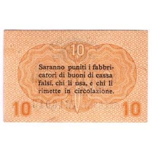 Italy 10 Centesimi 1918