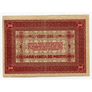 Italy 20 Lire 1918