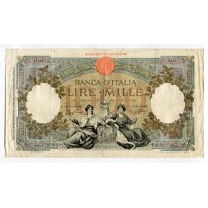 Italy 1000 Lire 1942 L'AQUILA