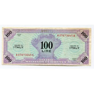 Italy 100 Lire 1943