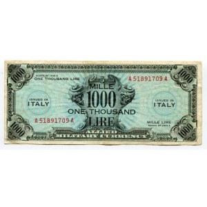 Italy 1000 Lire 1943