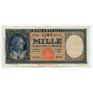 Italy 1000 Lire 1961