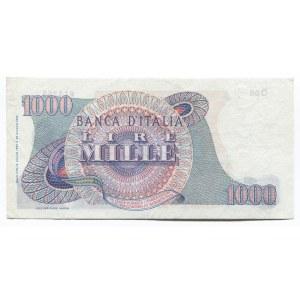 Italy 1000 Lire 1962