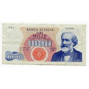 Italy 1000 Lire 1964