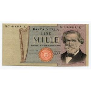 Italy 1000 Lire 1975