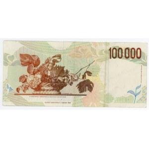 Italy 100000 Lire 1994 (ND)