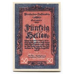 Liechtenstein 50 Heller 1920 (ND)