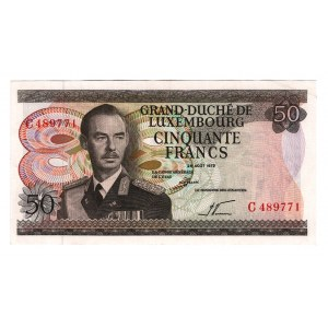 Luxembourg 50 Francs 1972