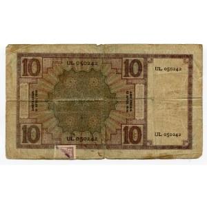 Netherlands 10 Gulden 1930