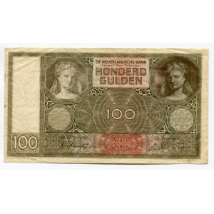 Netherlands 100 Gulden 1944