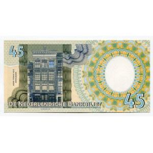 Netherlands 45 Gulden 2018 Anne Frank