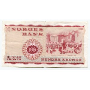 Norway 100 Kroner 1974