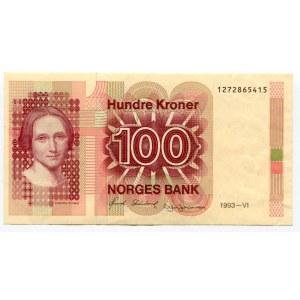 Norway 100 Kroner 1993
