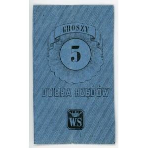 Poland Dobra Rzedow 5 Groszy 186_ (ND)