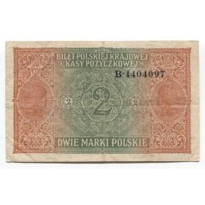 Poland 2 Marki 1917