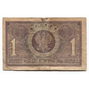 Poland 1 Marka 1919 Polish State Loan Bank