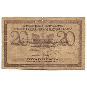 Poland 20 Marek 1919 Polish State Loan Bank