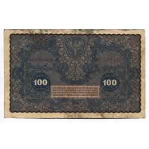 Poland 100 Marek 1919 Polish State Loan Bank