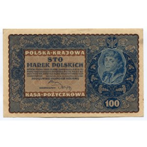 Poland 100 Marek 1919