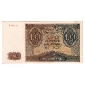 Poland 100 Zlotych 1941
