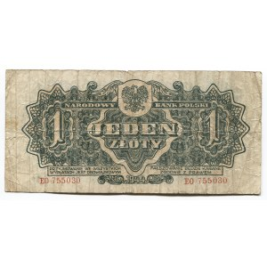 Poland 1 Zloty 1944 Polish National Bank