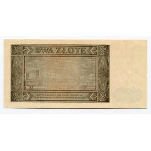 Poland 2 Zlote 1948