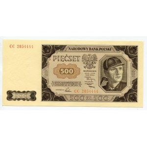 Poland 500 Zlotych 1948